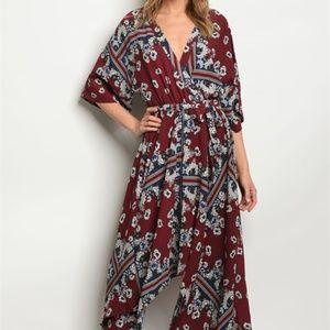 Dresses-Bohemia/ Print Dress